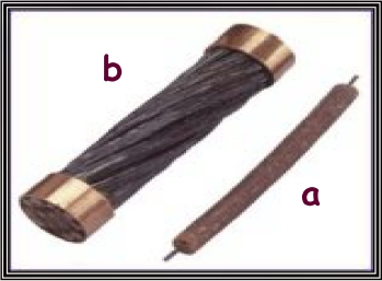 Cables from UK-France link in 1850 (a) and 1851 (b)