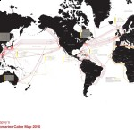 Global Submarine Cable Map 2010